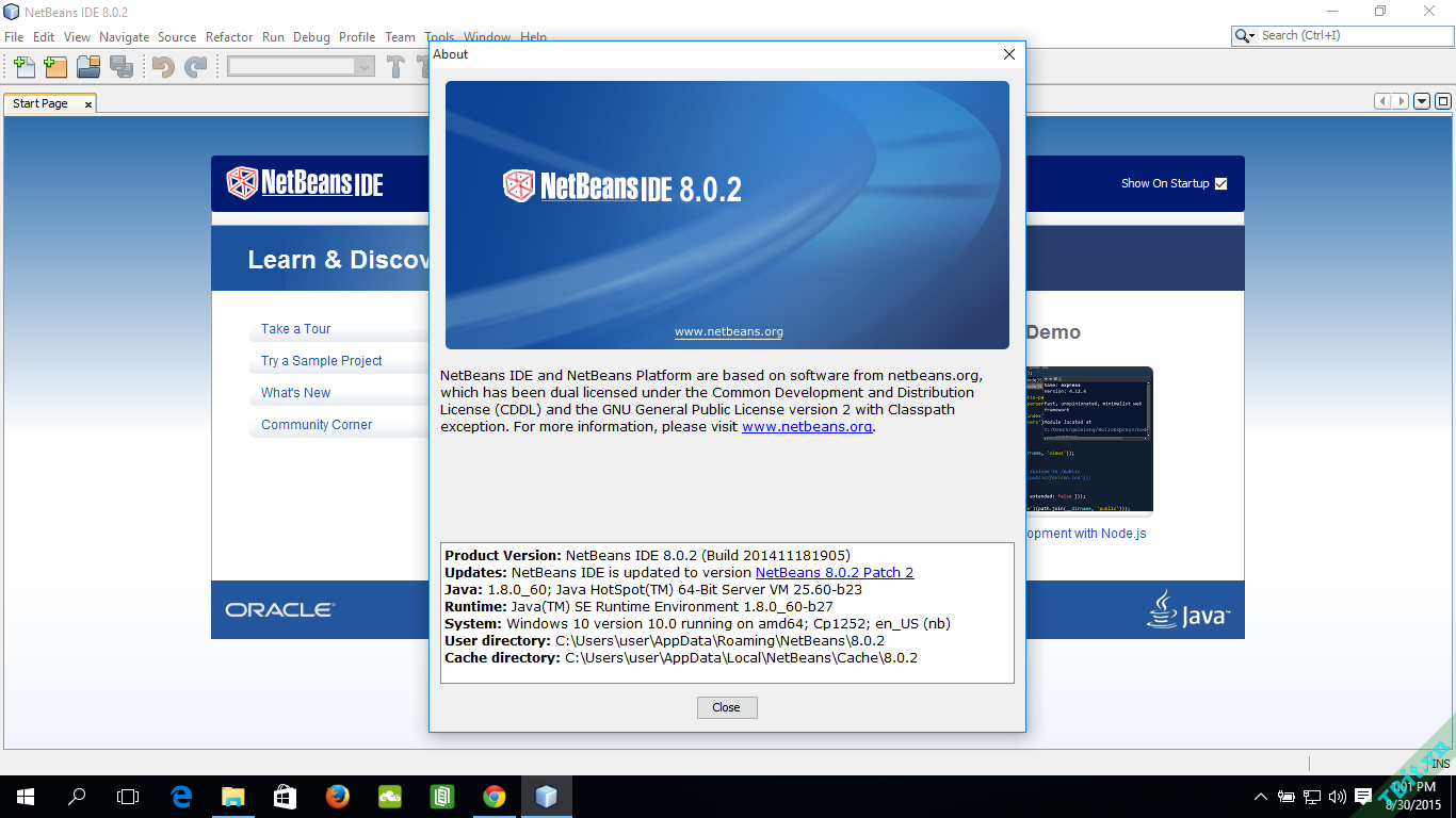 NetBeans IDE on Windows 10.png